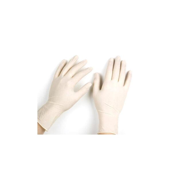 Γάντια Λάτεξ με πούδρα